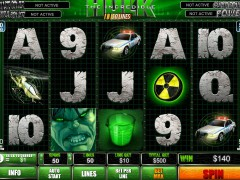 The Incredible Hulk 50 Lines slotmachine-77.com Playtech 3/5