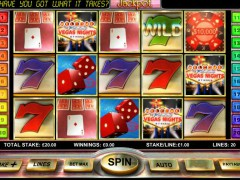 Vegas Nights slotmachine-77.com OpenBet 1/5