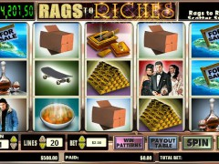 Rags To Riches 20 Line - CryptoLogic