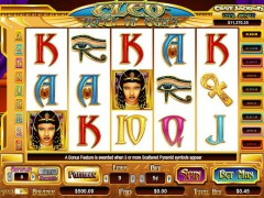 Cleo Queen of Egypt slotmachine-77.com CryptoLogic 1/5