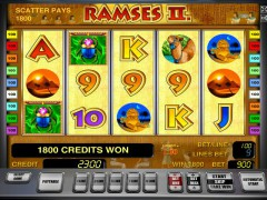 Ramses II slotmachine-77.com Greentube 1/5