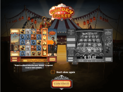 Golden Ticket slotmachine-77.com Play'nGo 1/5