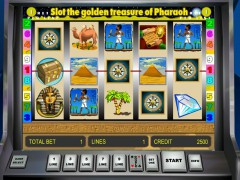 Golden Treasure of Pharaoh - Novoline