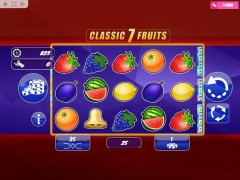 Classic7Fruits slotmachine-77.com MrSlotty 1/5