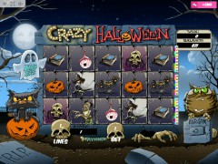 Crazy Halloween slotmachine-77.com MrSlotty 1/5