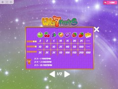 Wild7Fruits slotmachine-77.com MrSlotty 5/5