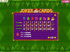 Joker Cards slotmachine-77.com MrSlotty 5/5