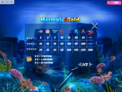 Mermaid Gold slotmachine-77.com MrSlotty 5/5